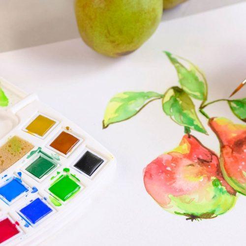 Akvarel/vandfarver